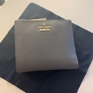 Kate Spade Grey Fold Wallet